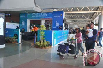 Pengguna jasa angkutan udara di Palembang melonjak