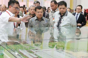 Wapres Resmikan Pabrik Wuling Motors