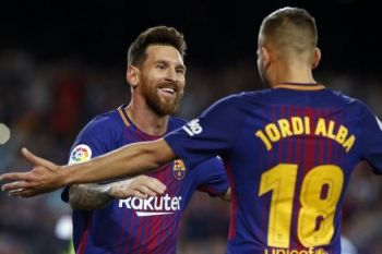 Barcelona pemuncak klasemen sementara Liga Spanyol