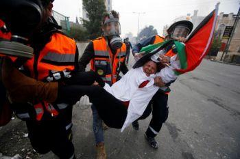 Puluhan cedera dalam bentrokan dengan tentara Israel di wilayah Palestina