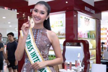 Miss International 2017 bangga bisa pamerkan produk Indonesia