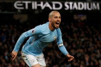 Manchester City catatkan rekor 15 kemenangan usai kalahkan Swansea 4-0