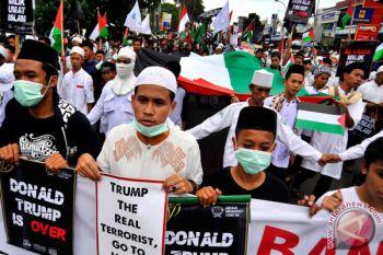 Demo Peduli Palestina