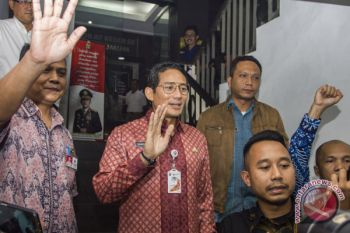 Polda Metro jadwalkan pemeriskaan Sandiaga Uno