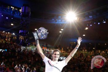 Federer menjadi petenis tertua yang menduduki peringkat puncak ATP