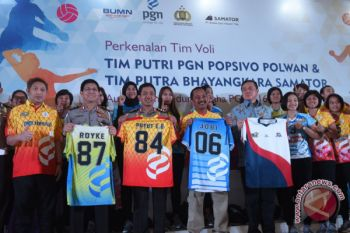 Peluncuran Tim Proliga 2018