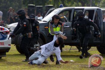Simulasi Pengamanan Pilkada Bali