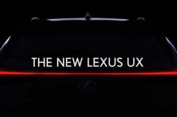 Lexus UX crossover akan muncul bulan depan