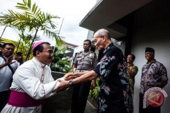 Uskup Agung Semarang Kunjungi Syafii Maarif