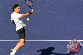 Federer hadapi del Potro di final Indian Wells