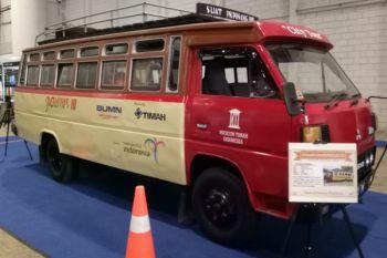 Pownis, bus kayu asal Bangka kini cuma tersisa dua unit