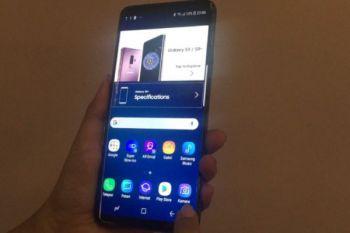 Samsung selidiki penyebab layar sentuh eror di Galaxy S9