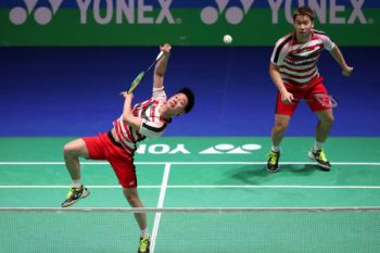 Marcus/Kevin jumpa Boe/Mogensen di final All England