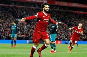 Salah borong empat gol saat Liverpool gilas Watford 5-0