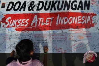 Dukungan untuk atlet Asian Games