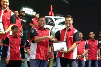 Rifat Sungkar jadi anggota kehormatan komunitas Mitsubishi Xpander