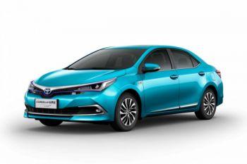Corolla Hybrid muncul di China