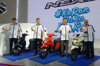 Suzuki hadirkan skutik Nex generasi kedua, begini tampilannya