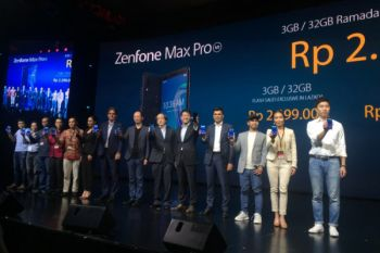 Pertama di dunia, Asus luncurkan Zenfone Max Pro M1