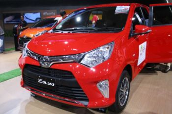 Toyota Calya dan Agya didiskon hingga Rp10 juta di IIMS