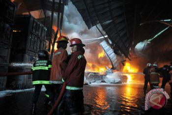 Kebakaran gudang karet