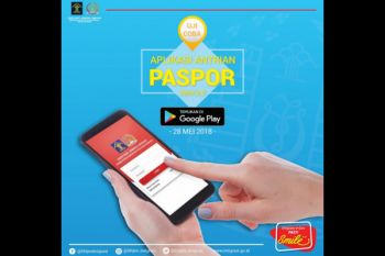 Aplikasi Antrean Paspor bisa cek kuota tersedia