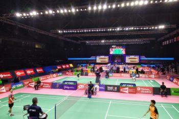 Ginting raih angka pertama Indonesia di Piala Thomas