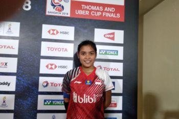 Gregoria raih angka pertama Indonesia atas Prancis