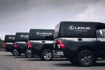 Servis Lexus di rumah lewat Mobile Concierge Service