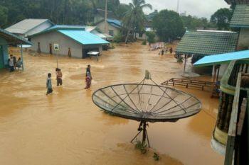 Curah hujan meningkat, sejumlah kecamatan di Kapuas Hulu rawan banjir