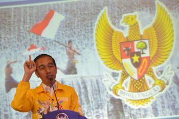 Presiden buka bareng relawan Gojo