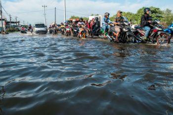 Banjir Rob kawasan industri terboyo Semarang