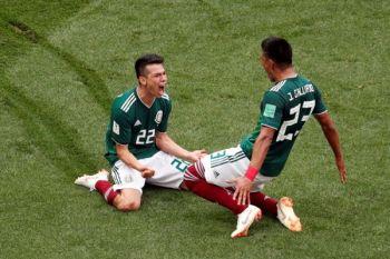 Meksiko memimpin 1-0 atas Korsel berkat gol penalti