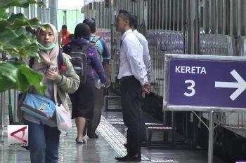 Sebanyak 22 Ribu Pemudik Tiba di Stasiun Pasar Senen