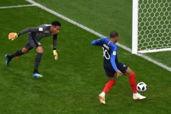 Prancis sementara ungguli Peru 1-0 berkat gol Mbappe