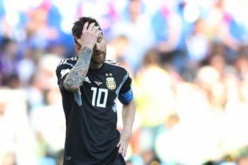 Argentina vs Kroasia tanpa gol di babak pertama