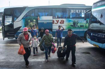 Arus balik di Terminal Pulo Gebang signifikan