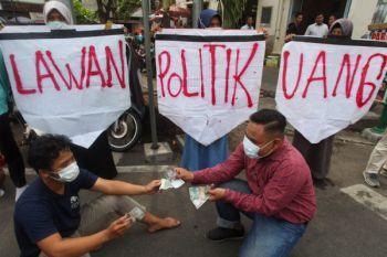 Terduga pelaku politik uang Dimas Kasiono terancam masuk penjara