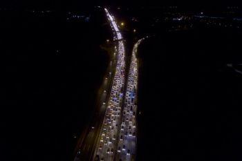Kemacetan Arus Balik Tol Cikampek