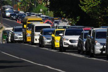 Kemacetan Jalan Utama Solo - Semarang