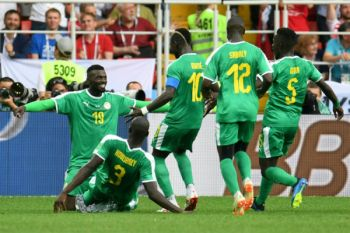 Jepang vs Senegal imbang 1-1 di babak pertama
