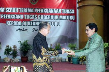 Serah Terima Pelaksanaan Tugas Gubernur Maluku