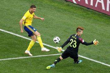 Swedia vs Korsel masih imbang tanpa gol di babak pertama