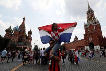 "Ribuan warga Kroasia ""tumpah"" ke jalan sambut timnas"