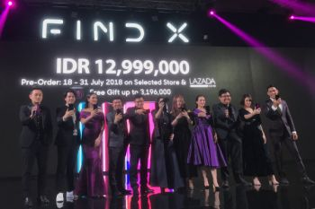 Resmi meluncur di Indonesia, ini harga Oppo Find X