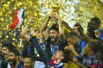 Berita menarik kemarin, Prancis juara hingga Susi bantah masuk bursa Cawapres