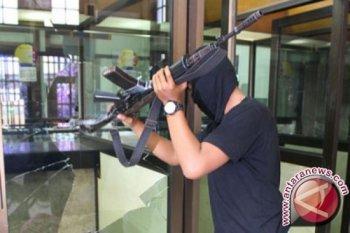 Aksi perampokan di Minas, dua satpam alami luka tembak