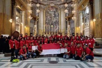 Paduan suara dari Manado juara di Italia