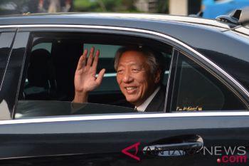 Deputi PM Singapura bertemu Presiden