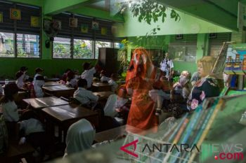 Hari pertama masuk sekolah Jakarta